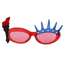 fourth of july glasses - Google Search