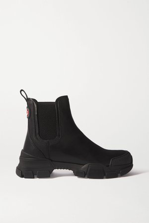 Black Leon leather Chelsea boots | Gucci | NET-A-PORTER