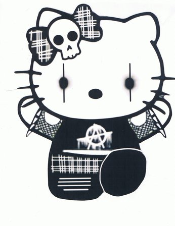goth hello kitty - Google Search