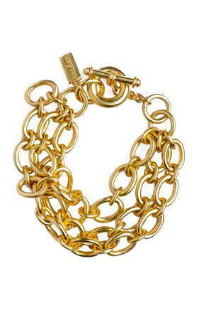 Chloe 24K Gold-Plated Bracelet by VALÉRE