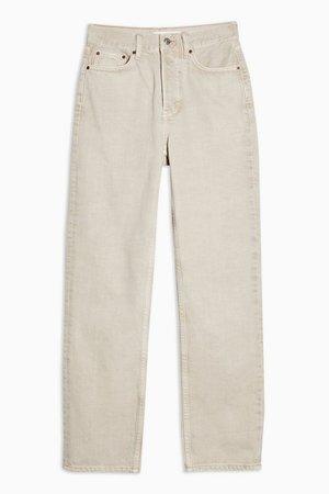 Putty Dad Straight Leg Jeans | Topshop