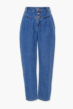 Button-Fly Mom Jeans | Forever 21