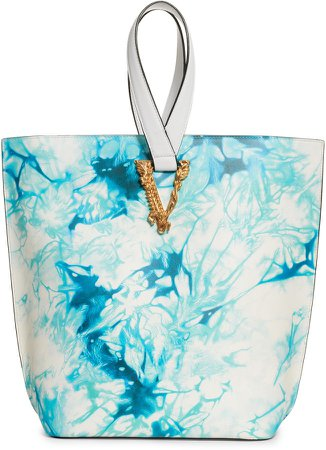 Virtus Leather Bucket Bag