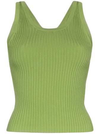 Matériel ribbed-knit Tank Top - Farfetch