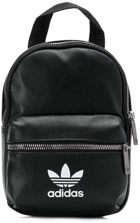 contrast logo backpack