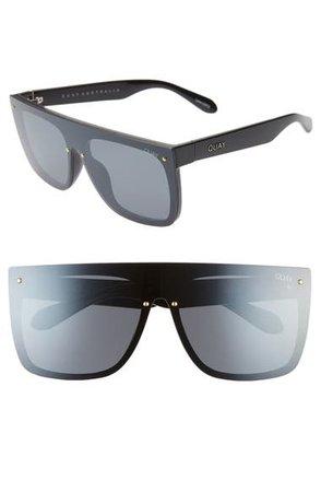 Quay Australia Jaded 150mm Flat Top Sunglasses   Nordstrom