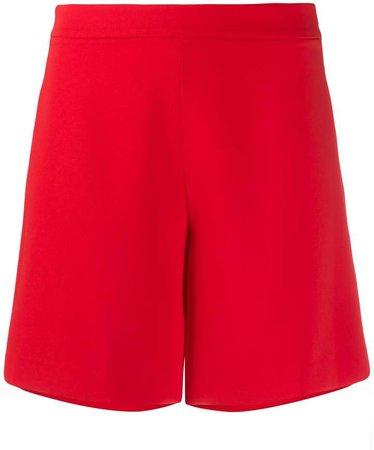 flared shorts