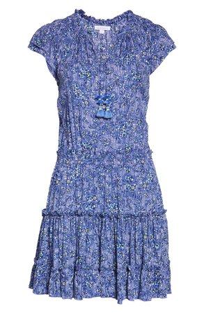 Poupette St Barth Nava Floral Cover-Up Minidress   Nordstrom