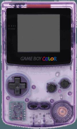 Game Boy Color Transparent Purple transparent PNG - StickPNG