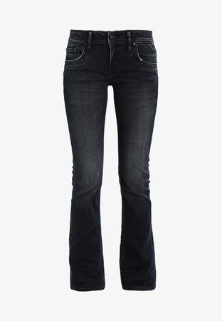 Bootcut flared grey jeans