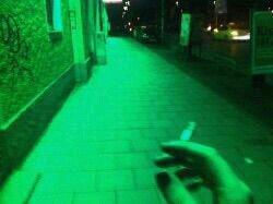 green aesthetic grunge