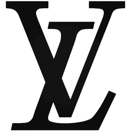 louis vuitton lv logo text filler