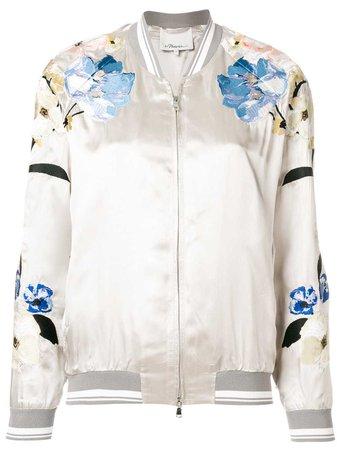 3.1 Phillip Lim Floral Bomber Jacket - Farfetch