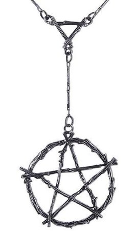 Restyle - Branch Pentagram Necklace