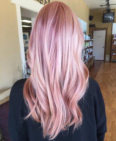 Rose-Gold-Hair-Color-Inspiration.jpg (839×1024)