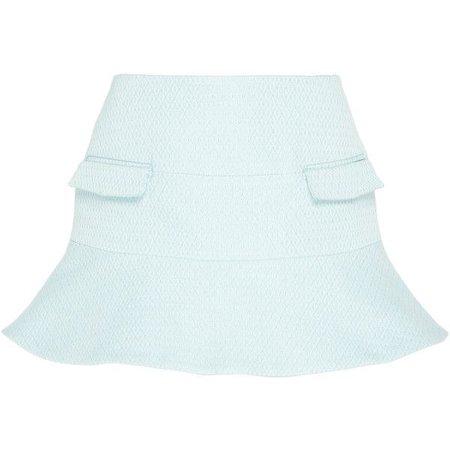Mini Skirt in Blue