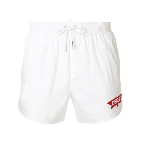 Dsquared2 DSQ2 Swim Shorts WHITE 12920915 Dsquared2 Swim Shorts