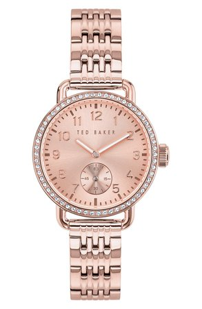 Ted Baker London Hannahh Bracelet Watch, 34mm | Nordstrom