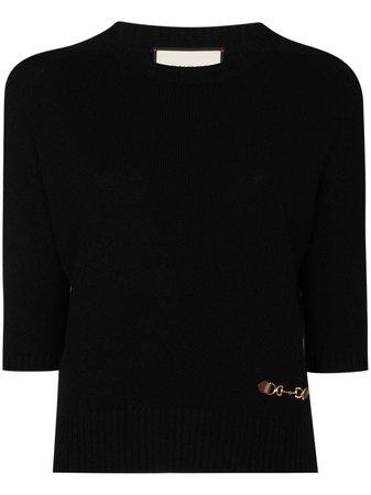 Gucci, cashmere jumper