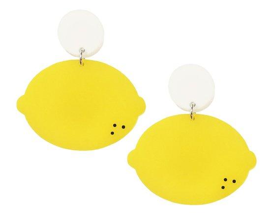 Lemon Earrings – yippywhippy