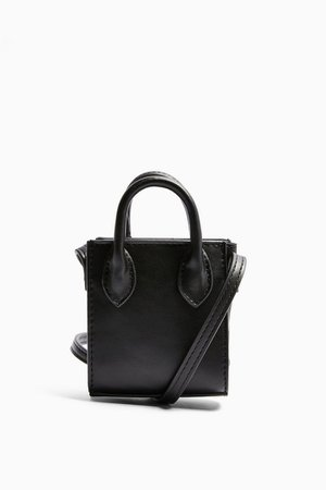 JAX Black Micro Mini Tote Bag | Topshop
