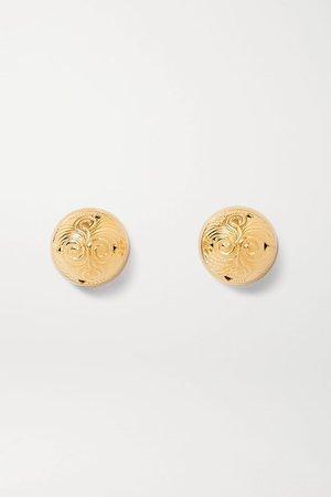 Gold Hourglass gold vermeil earrings | Soft Mountains | NET-A-PORTER