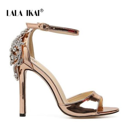LALA IKAI 2018 Sexy High Heels Sandals Thin Heels Gladiator Women Sandals - Google Search