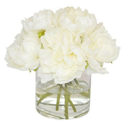 "9"" Becklow Peony Arrangement, Faux - Arrangements under $150 - Shop By Price - Decor - Category Landing Page 