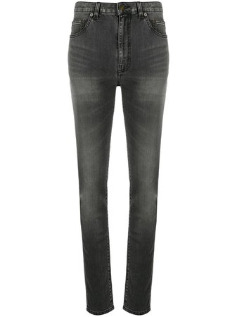 Saint Laurent Whiskered Skinny Jeans - Farfetch