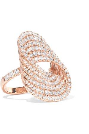 Anita Ko | Infinity Forever 18-karat rose gold diamond ring | NET-A-PORTER.COM