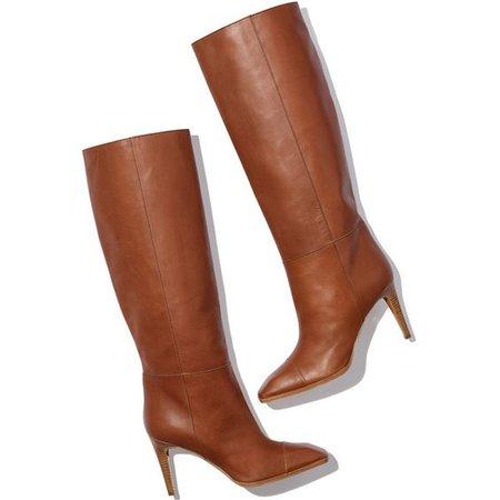 Pierre Hardy Profil High Heel Tall Leather Boot