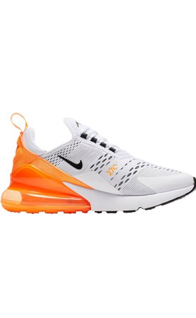 Orange/Black/White Air Max 270