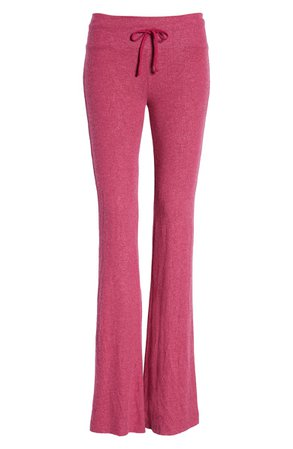 Wildfox Tennis Club Fleece Pants Flare | Nordstrom
