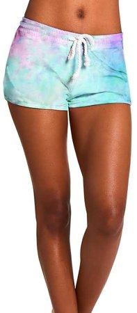 Tie-Dye Shorts Pastel Multi