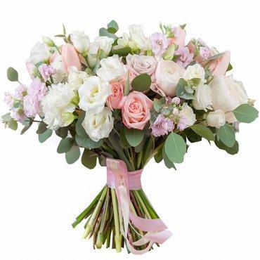 Ramo de Lavanda y siempre vivas. Enviar flores a domicilio Madrid.