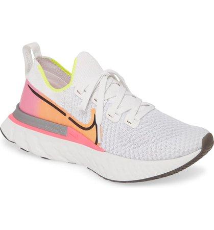 Nike React Infinity Run Flyknit Running Shoe (Women) | Nordstrom
