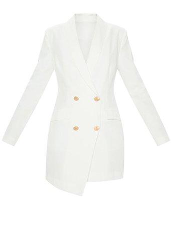 white blazer dress 2