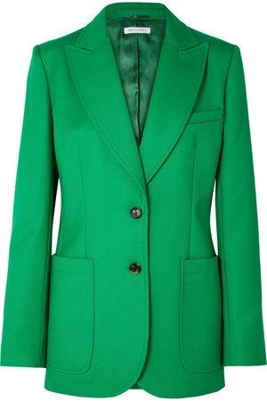 Bella Freud | Saint James wool-twill blazer | NET-A-PORTER.COM