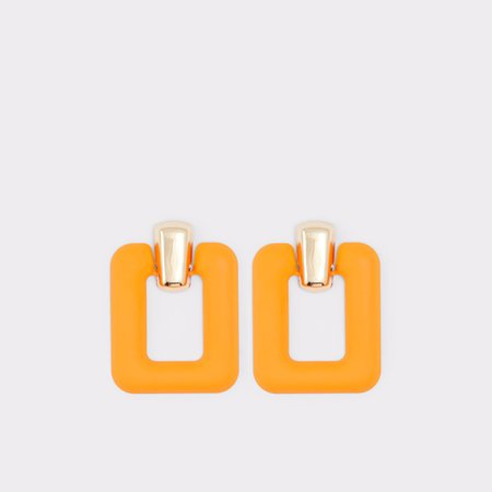 Thigoni Bright Orange Women's Earrings | ALDO US