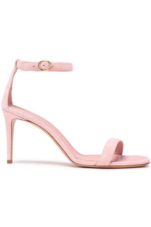 Baby pink Suede sandals | Sale up to 70% off | THE OUTNET | MANSUR GAVRIEL | THE OUTNET