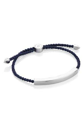 Monica Vinader Engravable Men's Friendship Bracelet | Nordstrom