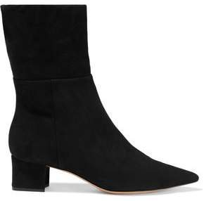 Stretch-suede Sock Boots