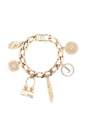 Le Jacquemus Gold-Tone Bracelet by Jacquemus   Moda Operandi