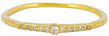 By Charlotte Gold Celestial Light Ring