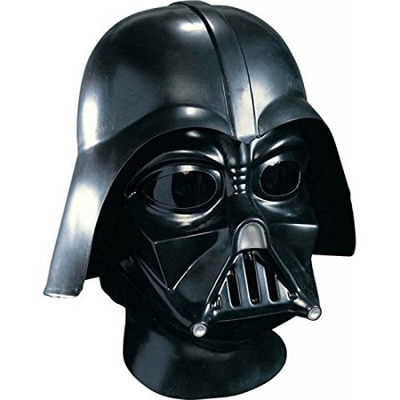 Star Wars Darth Vader Deluxe Adult Full Face Mask Rubies Black One Size Rubies Costumes - Apparel [1540901579-66844] - $23.53