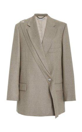 Asymmetric Wool Blazer By Stella Mccartney | Moda Operandi