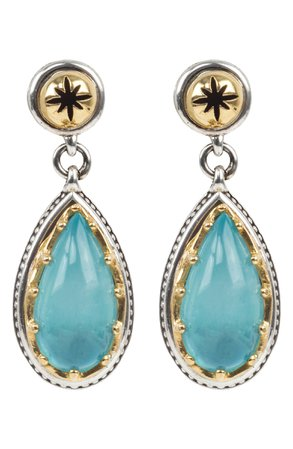 Konstantino Astria Aquamarine Drop Earrings | Nordstrom