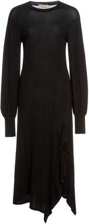 Temperley London Ingrid Bishop-Sleeve Knit Dress