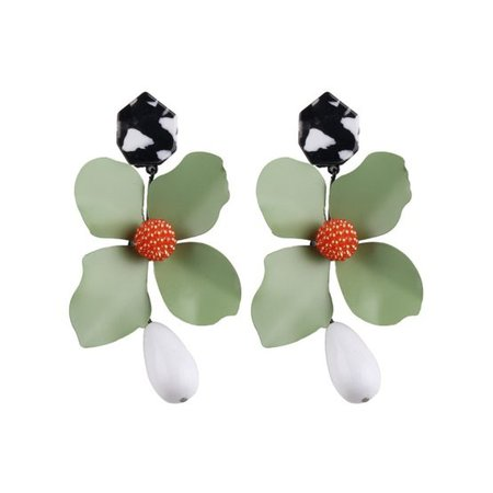 Flower Statement Earrings (10 Colors) – Mary Cheffer