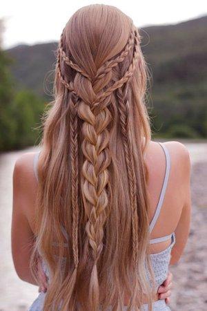 Bohemian hairstyle - Google Search